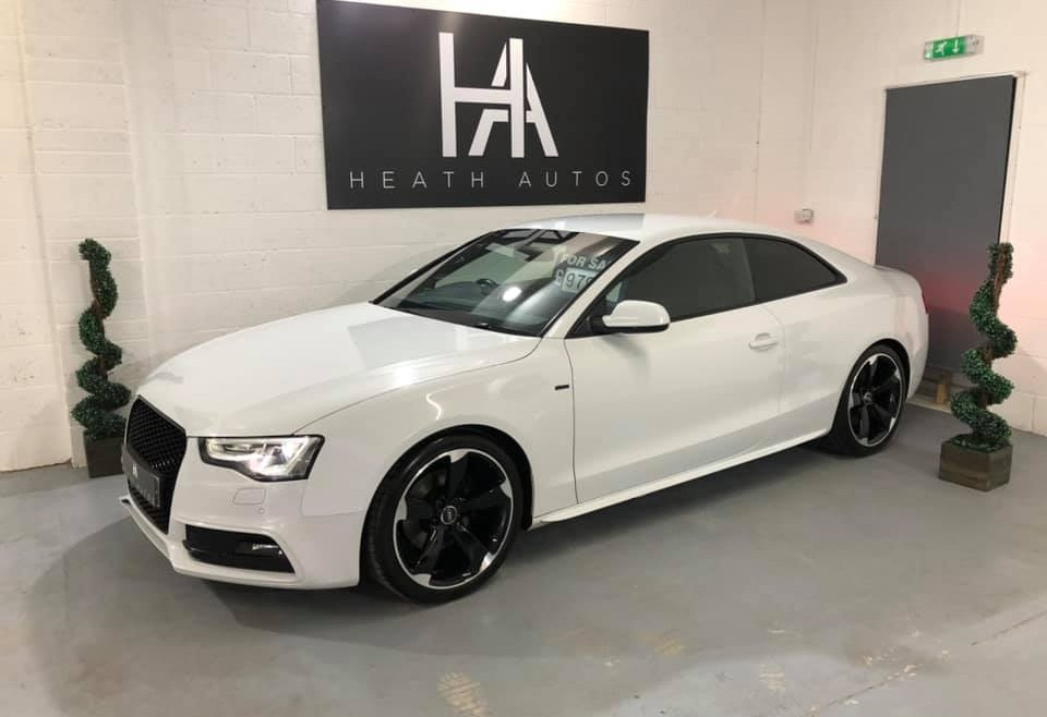 Audi A5 2.0 TDI Black Edition