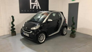 Smart fortwo 1.0 MHD Passion Cabriolet