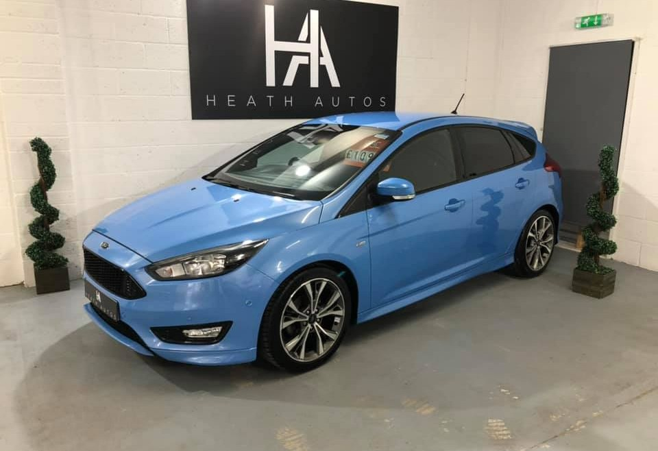 Ford Focus 1.0T EcoBoost ST-Line