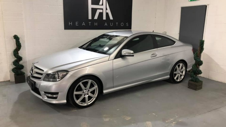 Mercedes-Benz C Class 2.1 C220 CDI BlueEFFICIENCY AMG Sport