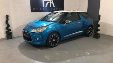 Citroen DS3 1.6 e-HDi Airdream DSport Plus